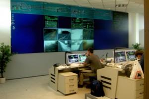 SATRA - Strahovský automobilový tunel - velín SAT