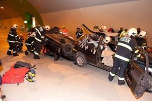 SATRA - Rizika v silničních tunelech podle směrnice EU (foto: HZS)